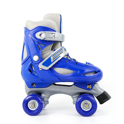 Macaron 2 in 1 Adjustable Skates For Kids, Blue