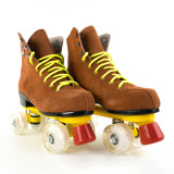 Roller Skates With Flash Wheels