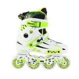 WQ Classic Inline Skates, White&Green
