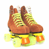 Roller Skates With Unflash Wheels