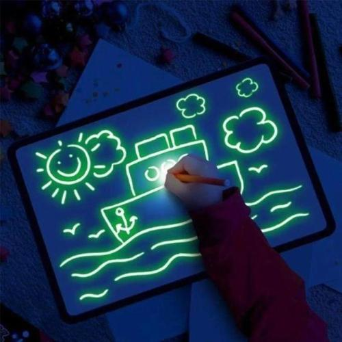 Glow In The Dark Neon Doodle Board Perfect Gift