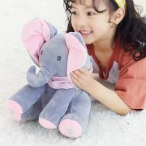 Singing Elephant Flappy Plush Toy - Baby Favorite