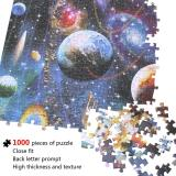 1000 Pieces Space Puzzle Jigsaw Puzzle