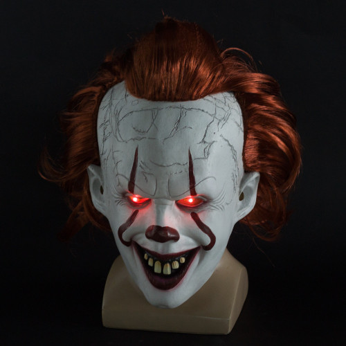 (50 0ff today) Halloween Role Playing-Pennywise Mask