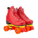 Red Roller Skate Led Wheels In Many Colors & Wheel Designs Perfect For Beginners