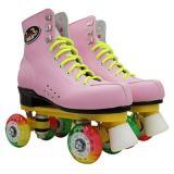 Narrow Light Up Skate Wheels Professional Flash Roller Skates Boots For Men & Women