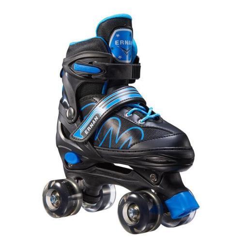 Children's Adjustable Roller Skates With Light-up Wheels
