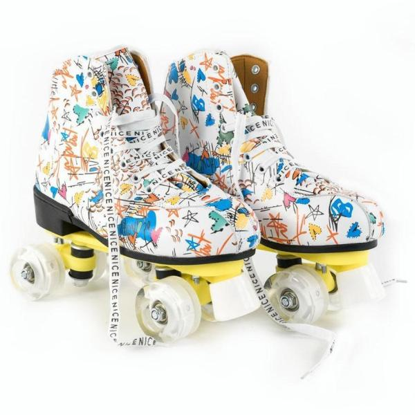 Crazy Graffiti Adult & Kids Light Up Urban Outdoor Roller Skates