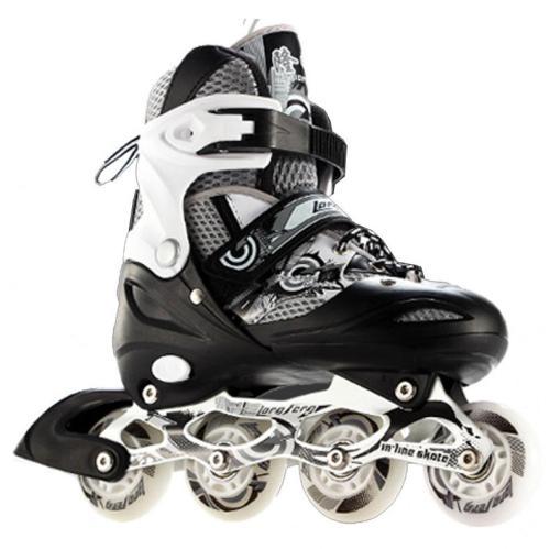 Kids Flash Inline Skates For Fitness Outdoor Freestyle Adjustable Rollerblades