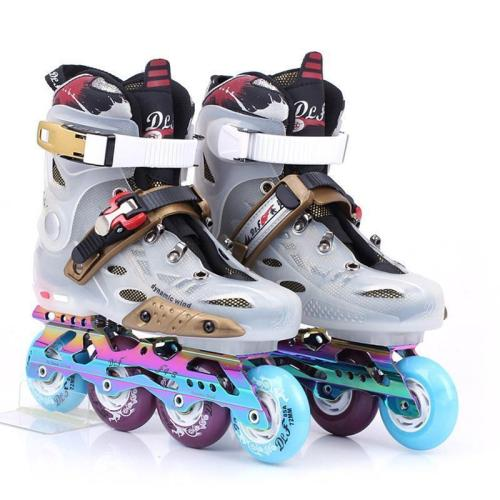 Adult Roller Blades Fancy Womens & Mens Inline Skates For Beginners Best Outdoor Rollerblades