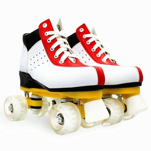 2020 Best Adult Flash 4 Wheels Roller Skates For Beginners Led Lights for Roller Skates