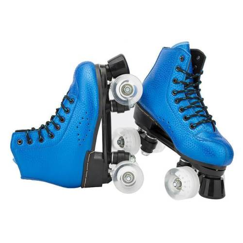 Navy Blue Best Outdoor Quad Skates For Women & Men With Led Lights