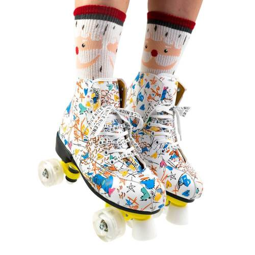 Crazy Graffiti Adult & Kids Light Up Urban Outdoor Roller Skates