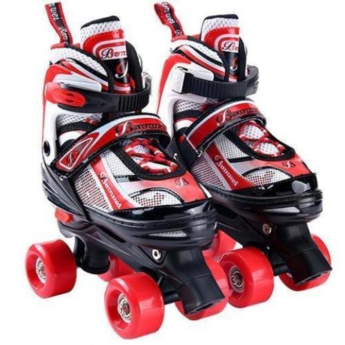 Best Girl's & Boy's Adjustable 2 In 1 Quad Inline Skate