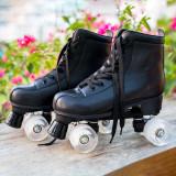 Black Women's Light Up Wheels For Roller Skates