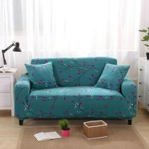 Green Floral Printed Sofa Covers