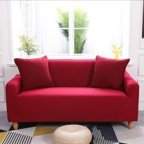Solid Red Sofa Covers