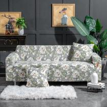 Light Green Floral Couch Covers