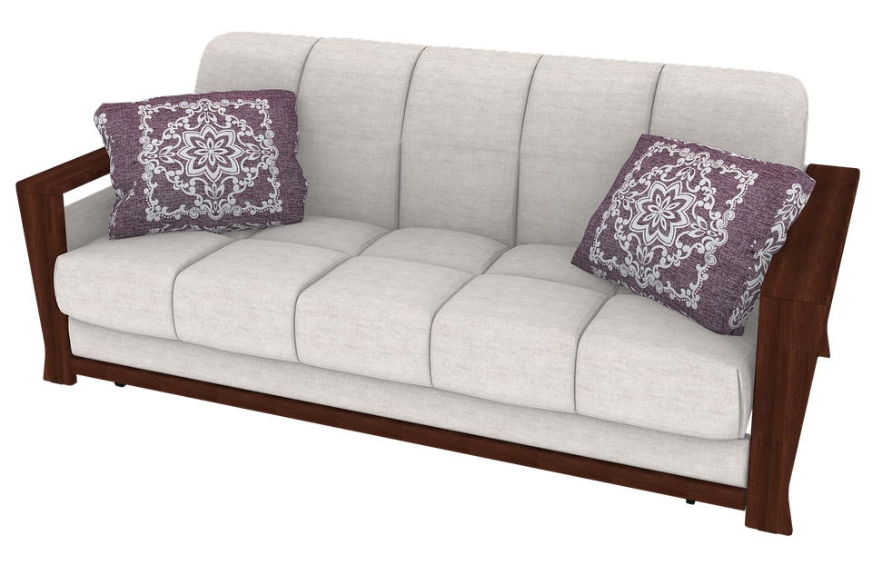 Five-seat wooden chair sofa set