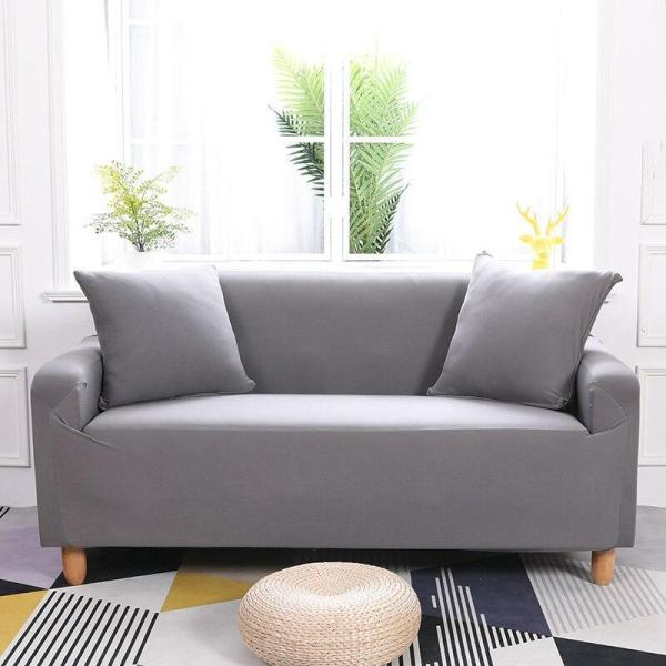 Solid Grey Couch Covers