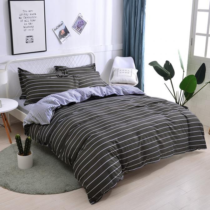 2020 summer bedding set geometry duvet cover