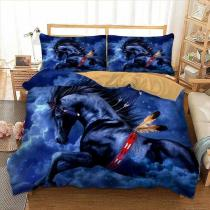 Housse de Couette Cheval Indien de Nuit Bed linen set