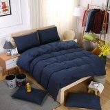 New Solid orange color bedding set bed 3-4pcs