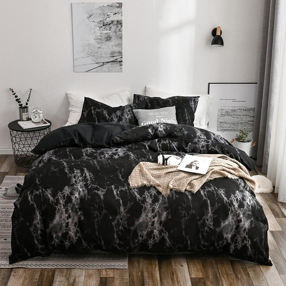 2/3pcs King Size Home Textile Brief Nordic Bedding Set