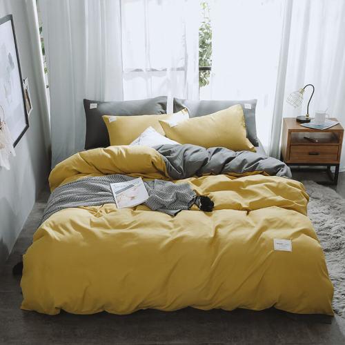 Yellow Luxury Bedding Set Home Duvet Cover