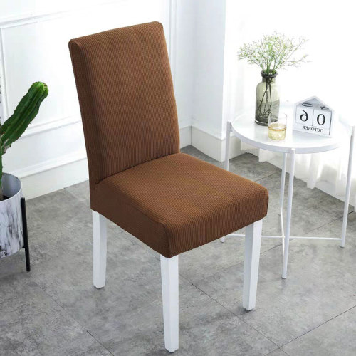 Waterproof Handmade Chair Covers Light Brown