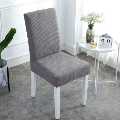 Waterproof Handmade Chair Covers Red Light Gray