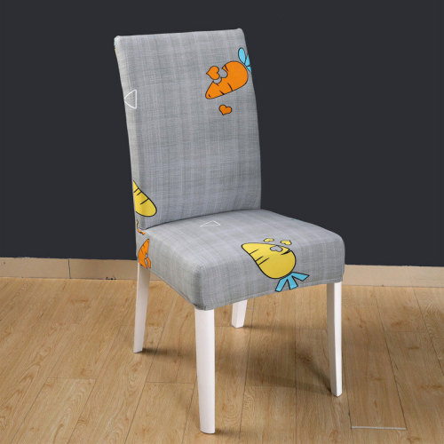 Waterproof Office Chair Cover Carrot Print