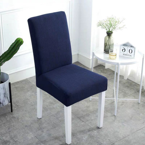 Waterproof Handmade Chair Covers Navy Blue