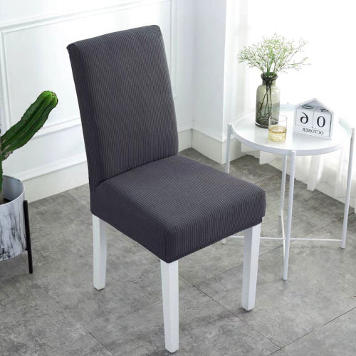 Waterproof Handmade Chair Covers Dark Gray