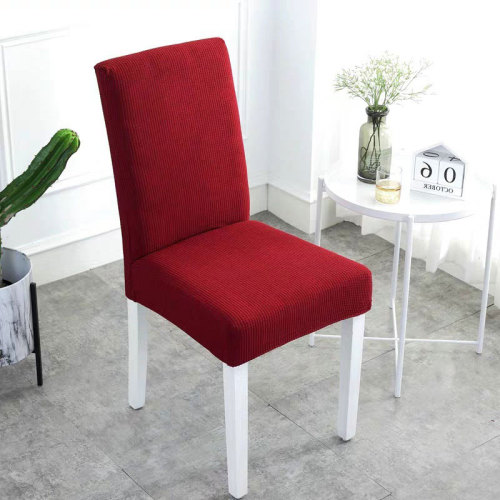 Waterproof Handmade Chair Covers Red