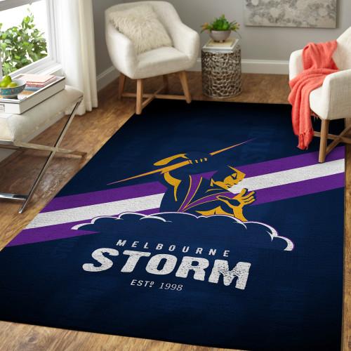 NRL Melbourne Storm Edition Carpets & Rugs