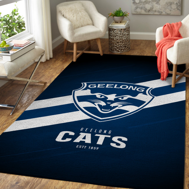 AFL Geelong Cats Edition Carpet & Rug