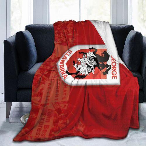 NRL Illawarra Dragons Limited Edition Blanket