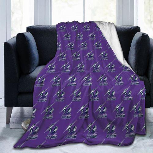 NRL Melbourne Storm Limited Edition Blanket