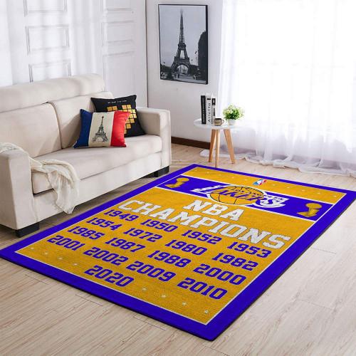 NBA Los Angeles Lakers Champion Edition Carpet & Rug