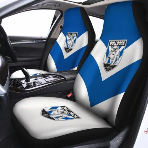 NRL Canterbury-Bankstown Bulldogs – Car Seat Covers