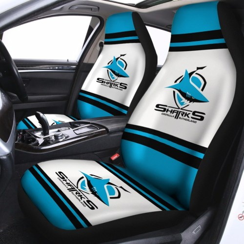 NRL Cronulla-Sutherland Sharks – Car Seat Covers