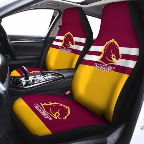 NRL Brisbane Broncos – Car Seat Covers