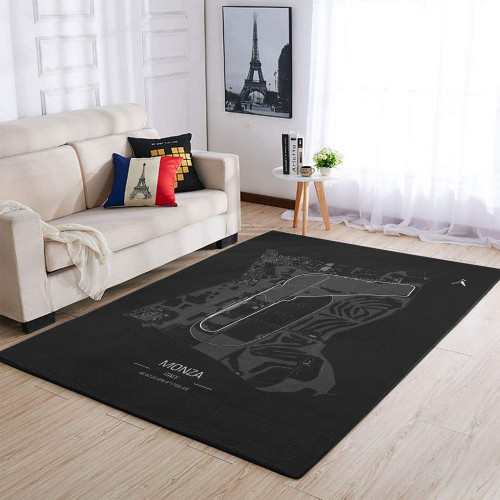 Formula One F1 Italy Monza Race Track Rug & Carpet