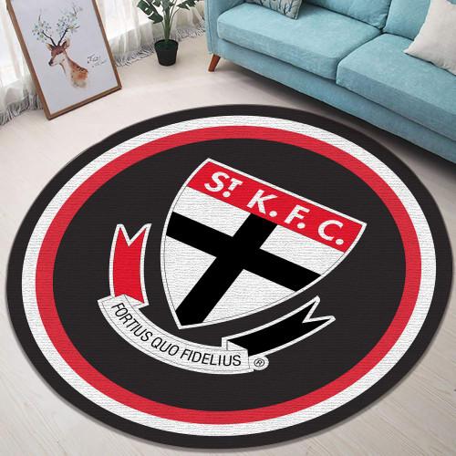 AFL St Kilda Limited Edition Round Rug