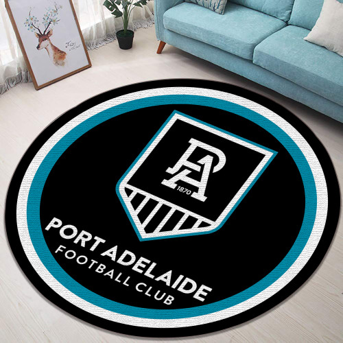 AFL Port Adelaide Limited Edition Round Rug