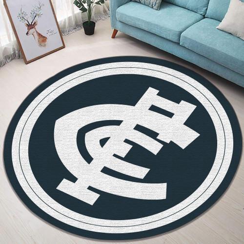 AFL Carlton Limited Edition Round Rug