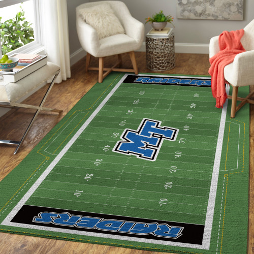 Conference USA Middle Tennessee Blue Raiders Edition Carpet & Rug