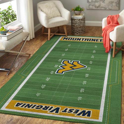 Big 12 West Virginia Mountaineers Edition Carpet & Rug