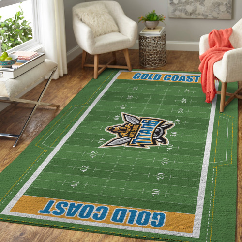 NRL Gold Coast Titans Edition Carpet & Rug